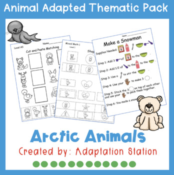 Arctic Animals Weekly Thematic Pack