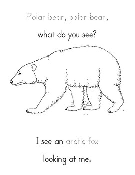 Arctic Animals What Do You See?