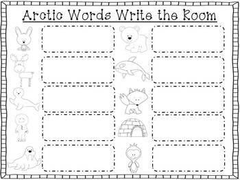 Arctic Animals {Winter Literacy Unit}