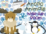 Arctic Animals Winter Write the Room