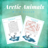 Arctic Animals Word Search