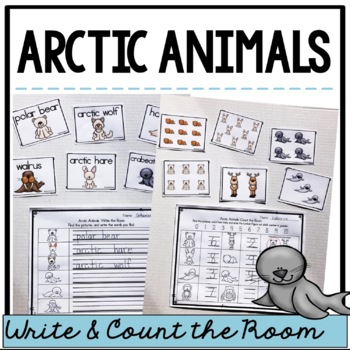 Arctic Animals: Write and Count the Room