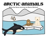 Arctic Animals Write the Room Activity