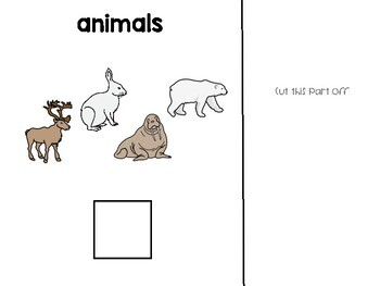 Arctic Animals: adapted text and literacy activities