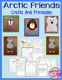 Arctic Animals and Inuit Kids Craftivity (Walrus, Penguin, Polar Bear)