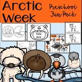 Arctic Animals and Letter I Preschool Activities