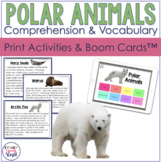 Arctic & Antarctic Animals Facts:  Expressive and Receptive Language Activities
