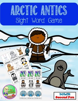 Arctic Antics Sight Word Center (Second)