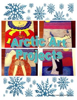 Winter Art Lessons - Arctic Art