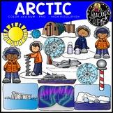 Arctic Clip Art Set {Educlips Clipart}