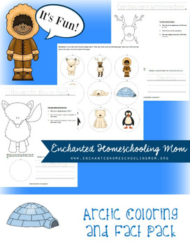 Arctic Coloring and Fact Pack
