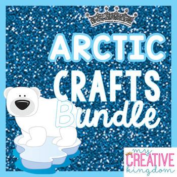 Arctic Animals Crafts Mega Bundle