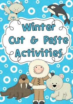 Winter Cut and Paste Activities