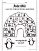 Arctic Even and Odd Number Activity Sheets