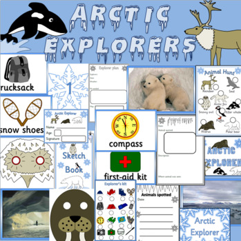 Arctic Explorers role play  EYFS, KS1, Outdoor play, Early Years -Dramatic play