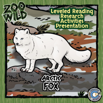 Arctic Fox -- 10 Resources -- Coloring Pages, Reading & Ac