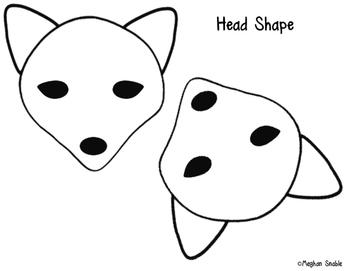 Arctic Fox Art Project- Cut & Paste