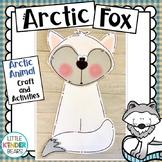Winter Arctic Fox Craft and Writing Activities