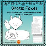Winter Animals - Arctic Foxes Reading Comprehension Passage
