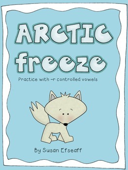 Literacy Center Game - Arctic Freeze - Word Work