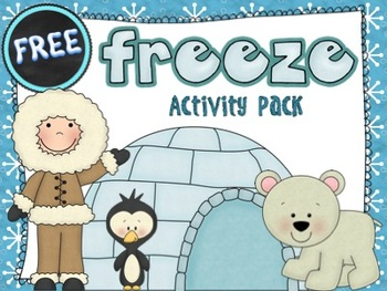 Free Freeze Activity Pack