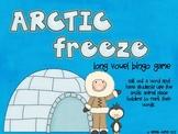 Arctic Freeze! Long Vowel Bingo