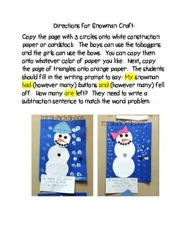 Arctic Freeze~ Math and Literacy Fun
