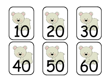 Arctic Friends Math Skip Counting By 10's