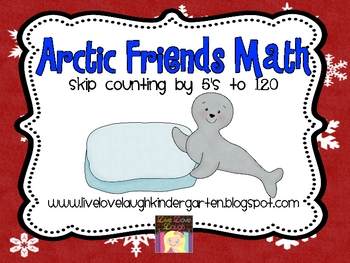 Arctic Friends Math Skip Counting By 5's