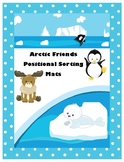 Arctic Friends Positional Sorting Mats- Math Center Activi