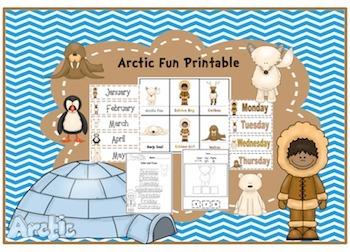 Arctic Fun Printable