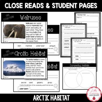 Arctic Habitat Non-Fiction Resources {Close Reads & Informational Text}
