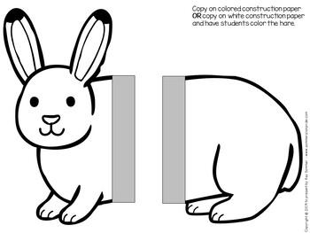 Arctic Hare Craft *EDITABLE*