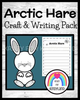 Arctic Hare Craft and Writing (Winter, Arctic Animal Research)