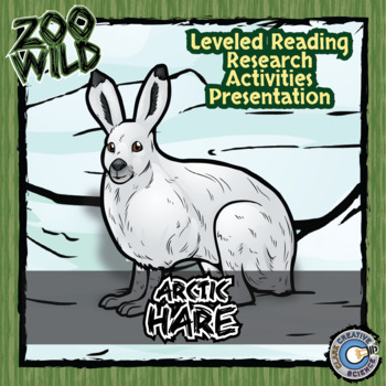 Arctic Hare -- 10 Resources -- Coloring Pages, Reading & Activities