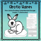 Winter Animals - Arctic Hares Reading Comprehension Passage