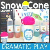 Arctic Ice Snowballs Stand~Snow Cone Dramatic Play