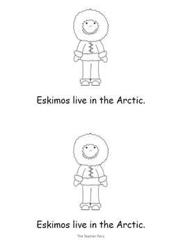 Arctic Life- Emergent Reader