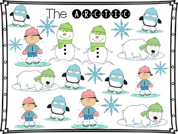 Arctic Math and Writing Fun K and 1 Common Core Aligned