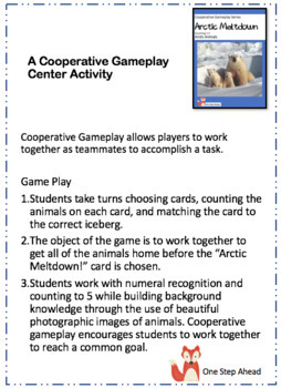 Counting 1-5, Arctic Meltdown (Arctic Animals) Cooperative Gameplay