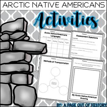 Arctic Native Americans Activities (Inuit, Aleut, Tlingit)