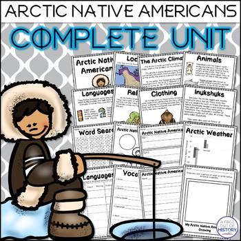 Arctic Native Americans Complete Unit (Inuit, Aleut, Tlingit)