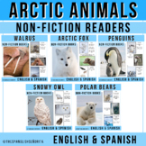 Arctic Animals BUNDLE Non-Fiction Spanish Readers
