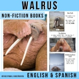 Arctic Non-Fiction Spanish Readers - La Morsa (The Walrus)