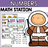 Numbers to 120 Winter Math Stations
