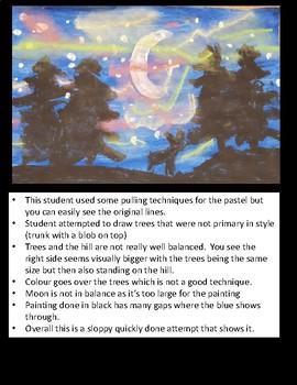 Arctic Pastel Art