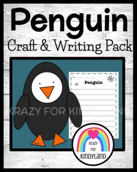 Winter / Arctic: Penguin Craft and Writing