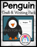 Penguin Craft and Writing (Winter, Arctic Animal Research)