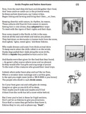 Arctic Peoples (2) - Poem, Worksheets and Puzzle