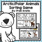 Polar Animals Sorting Game
